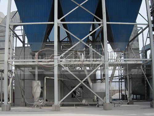 内蒙古电厂脱硫气力输送灰库