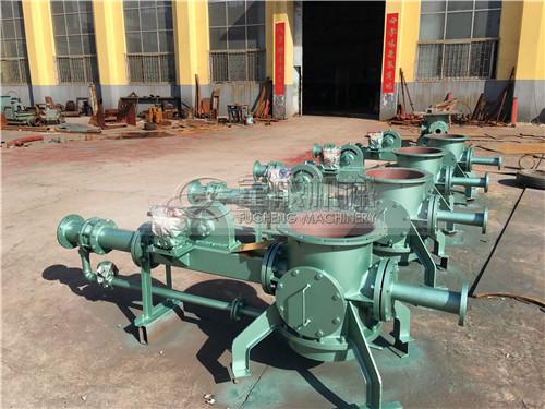 当地正压稀相气力输灰系统按一台29MW锅炉设计方案