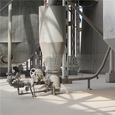气力输送用于粮食输送时动力的消耗