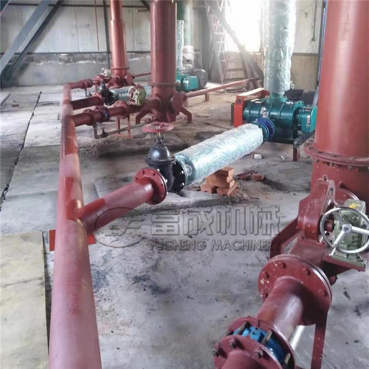 气力输送泵现场